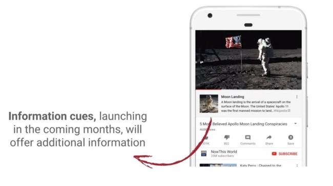 Permalink to YouTube usará información de Wikipedia para contrarestar su problema con las teorías conspirativas