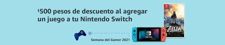 Consola Nintendo Switch y juegos en oferta en Amazon México