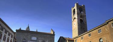Descubriendo la Ciudad Alta de Bérgamo: la torre Campanone