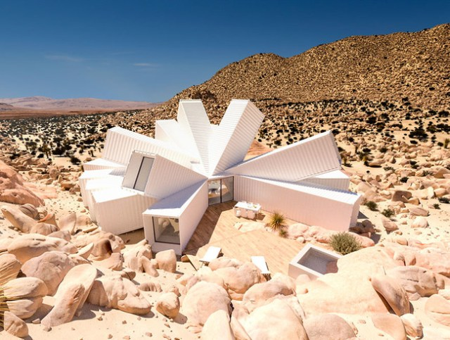Container House Joshua Tree 1