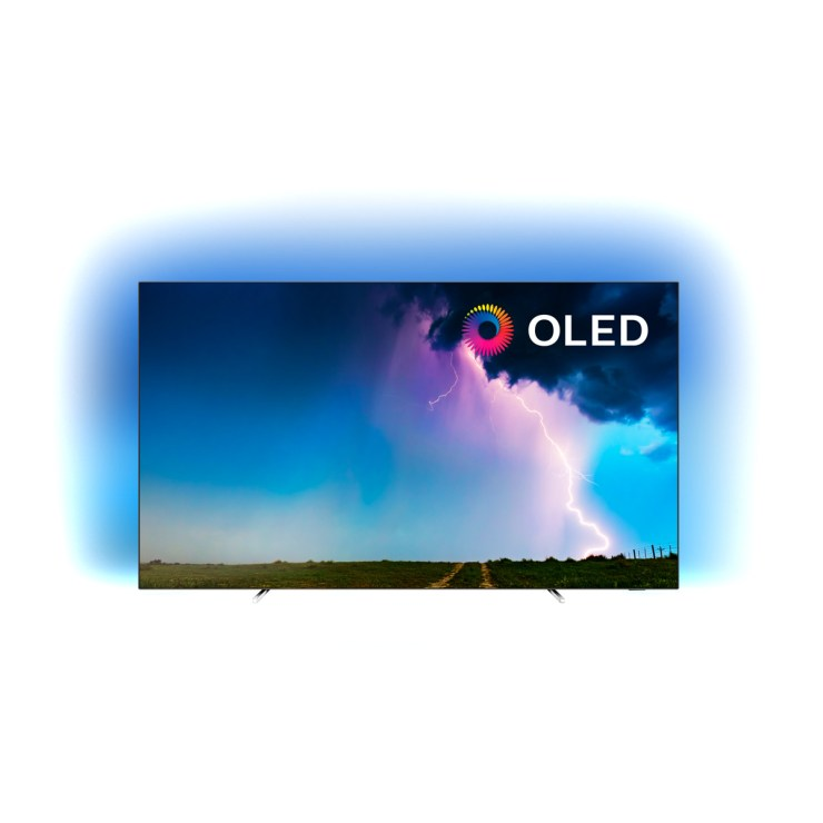 "TV OLED 139 cm (55"") Philips 55OLED754/12 4K HDR Smart TV con Ambilight y Saphi"