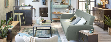Seven Maisons du Monde sofa beds to renovate the living room and gain space at the same time