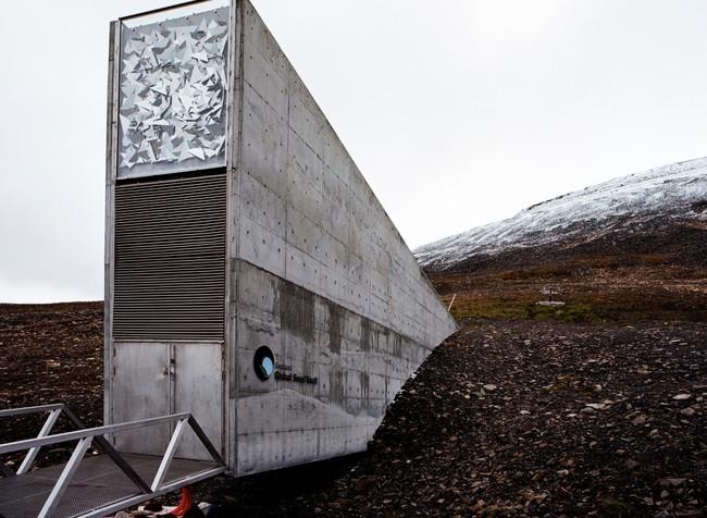 The Seed Vault. Svalbard