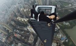 Wu Yongning, el 'rooftopper' chino de 26 años que murió tras caer de un edificio de 190 metros de altura