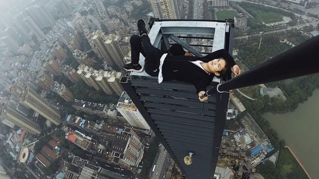 Permalink to Wu Yongning, el 'rooftopper' chino de 26 años que murió tras caer de un edificio de 190 metros de altura