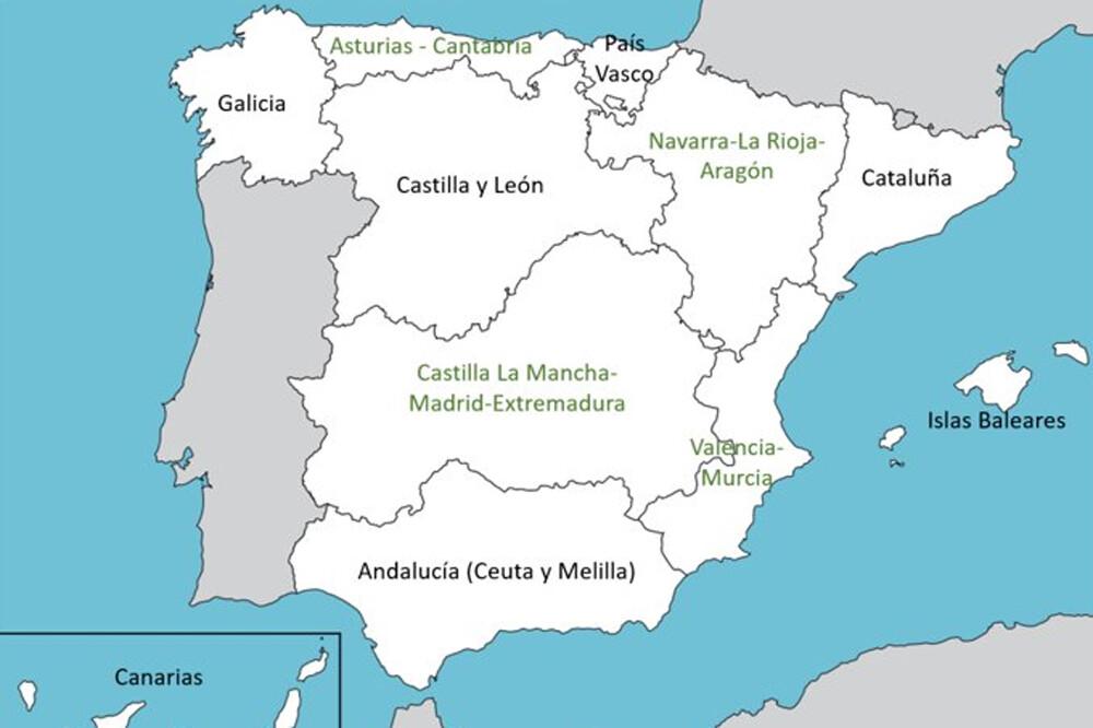 Alguien ha planteado un nuevo mapa territorial para España. Y ha logrado enfadar a todo el mundo