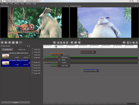 Vlmc Open Source Video Editor