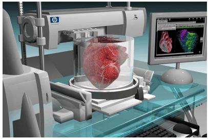 Impresión 3D de corazones humanos