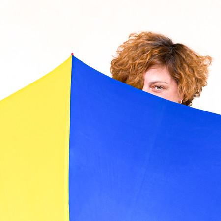 Retrato de la fotógrafa Natalia Garcés - Foto: María Luisa Legido