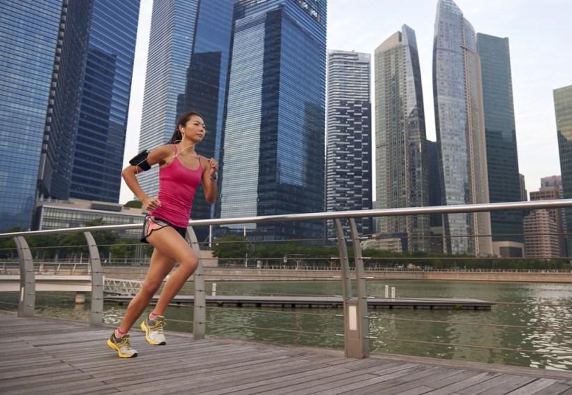 Las claves para mantener una postura correcta al correr