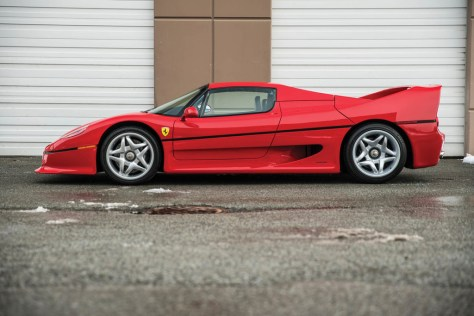 Ferrari F50 Myke Tyson