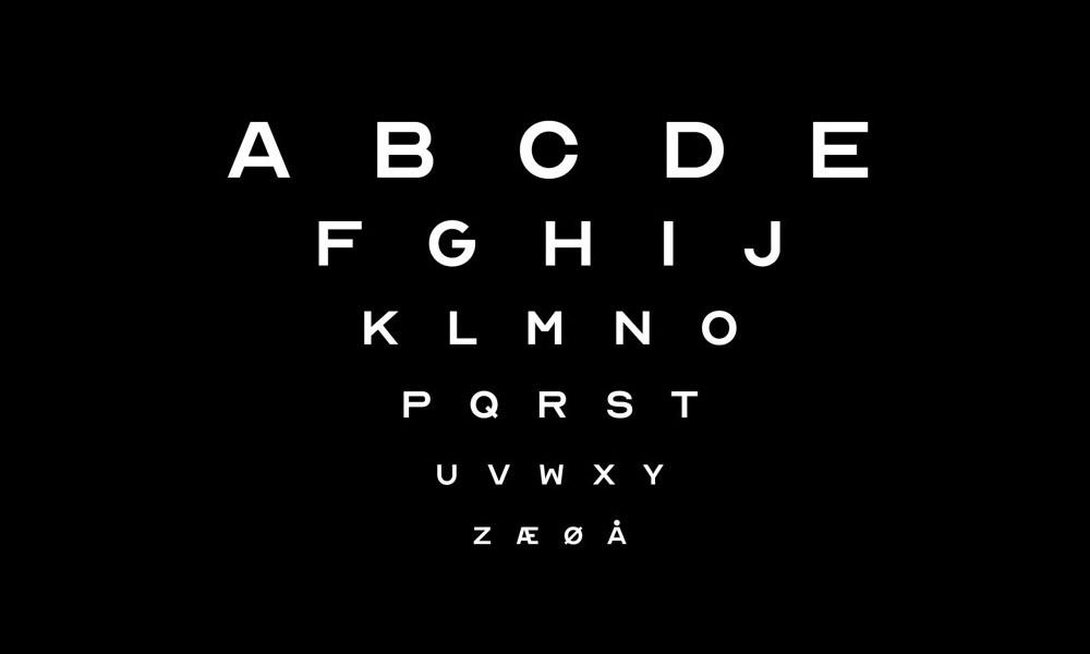 Permalink to Descarga esta tipografía gratuita inspirada en la que utilizan los oculistas para revisar la vista