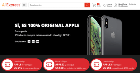 iPhone XS Max from 893 euros, iPhone XS for 825 euros, iPhone XR for 620 euros and more Apple offers in the Aliexpress promotion