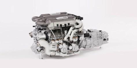 Bugatti Chiron motor
