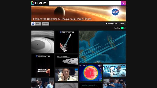 Permalink to La NASA comparte decenas de imágenes y GIFs espaciales en Giphy y Pinterest