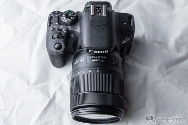 Canon Eos 800d Iso100 F tres cinco 1 4000 S