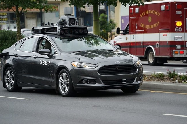 Uber Coche Autonomo Mata Persona