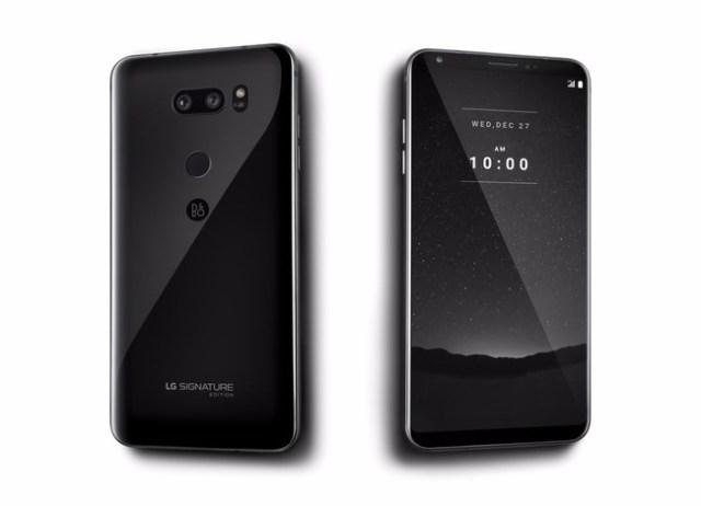 LG Signature Edition, el smartmovil con acabados premium del que solo se fabricarán 300 unidades
