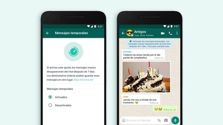 WhatsApp Desktop for Windows 10 receives the function of temporary messages that self-destruct
