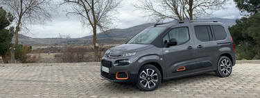 We tested the Citroën Berlingo gasoline and 130 hp: how does the new engine suit the fourth best-selling car in Spain?