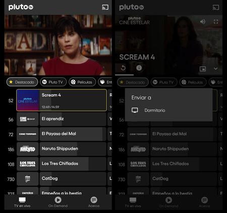 Pluto Tv Chrome