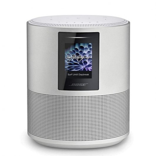 Altavoz inteligente Bose Home 500 Plata Bluetooth y control por voz