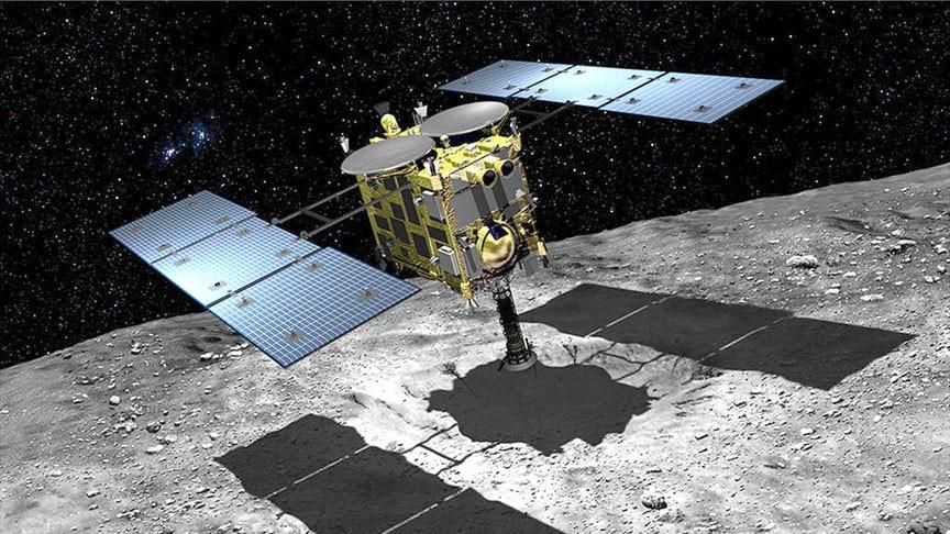 Permalink to La sonda Hayabusa 2 por fin ha tomado tierra en el asteroide Ryugu: otra minera espacial en busca de muestras y datos