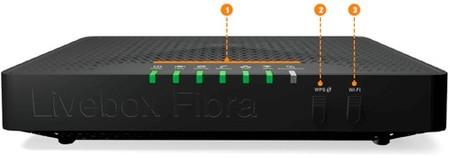Orange 2241 Conectores Y Botones Livebox Fibra