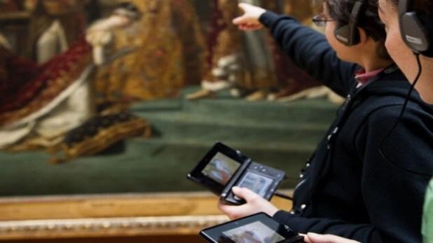 3DS en museo
