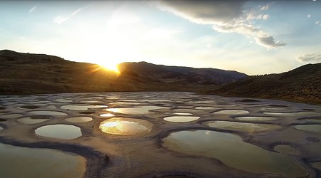 Spotted Lake atardecer