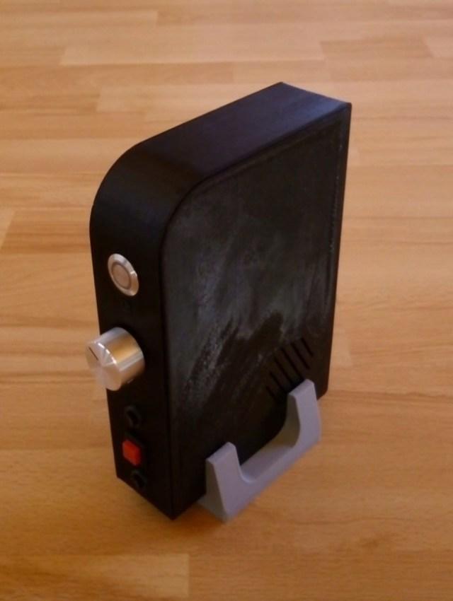 Detalle del soporte imprimible por separado (En gris)