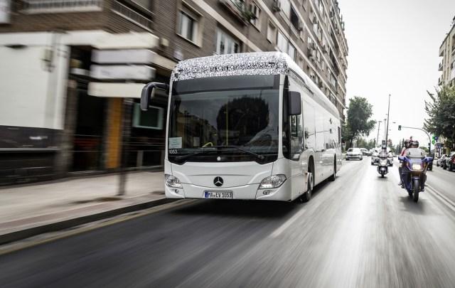 El autobús Mercedes-Benz Citaro 100% eléctrico ya posee su primer cliente: llega a finales de 2018