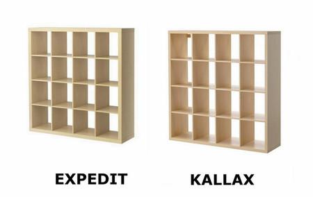 Estantería Kallax Ikea Usado