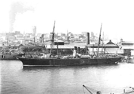 Ss City Of Adelaide 1864