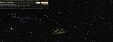 Como una bombilla de 22W a 21.000 millones de kilómetros de distancia: así localizamos la Voyager 1 en la inmensidad del Universo