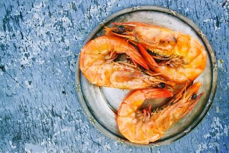 Close Up Cooked Crustacean 725992