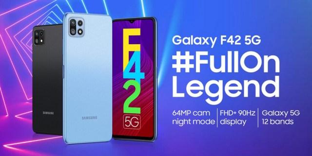 El Samsung℗ Galaxy℗ F42 5G se presentará el 29 de septiembre con pantalla de 90 Hz y lo último en conectividad
