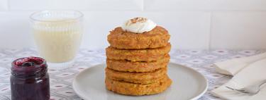 Tortitas fitness de avena y zanahoria: receta saludable