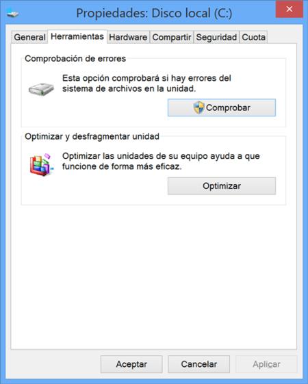 Vérifier les erreurs du disque dur