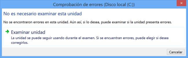 Comprobacion Errores Disco Local Windows