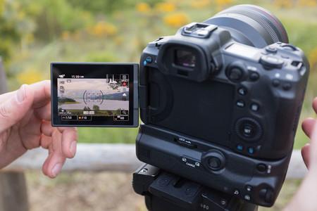 Canon R5 LCD