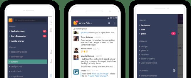 Mobile App Lineup