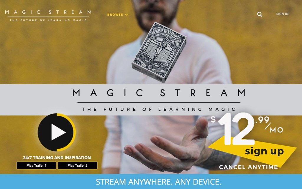 Window Y Magic Stream Welcome 2