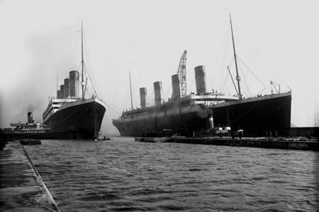 El Titanic y el Olympic
