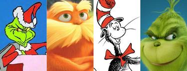 Todas las películas de Dr. Seuss, un Grinch de carne y hueso que se convirtió en clásico de la literatura infantil