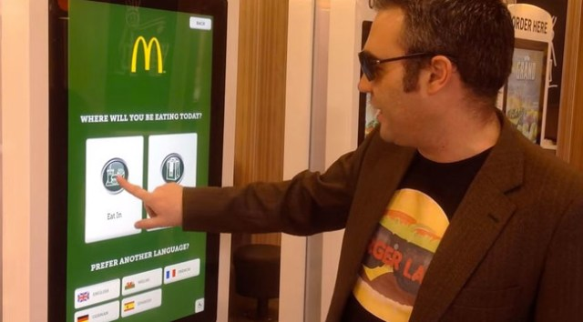 McDonalds - Máquinas