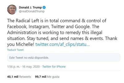 Los tuits de Trump son controvertidos para distraer la atención del público de temas potencialmente dañinos para su reputación