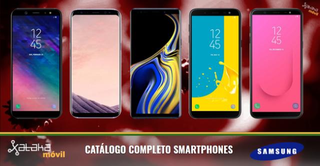 Catalogo Completo Smartphones Samsung℗ Agosto(mes) 2018