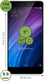 Xiaomi RedMi cuatro Prime