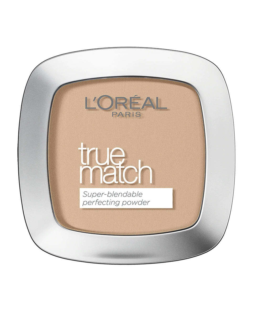 Polvos compactos matificantes y unificantes True Match de L'Oréal Paris